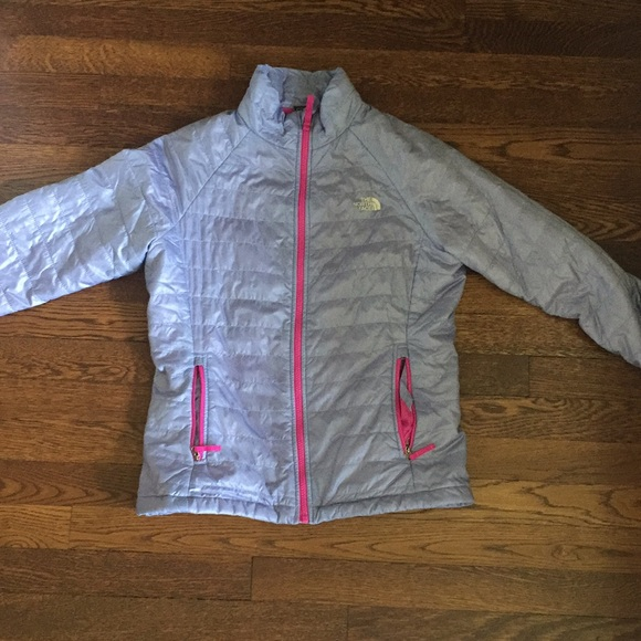 3f9c6706a The North Face Junior Purple Puffer Jacket